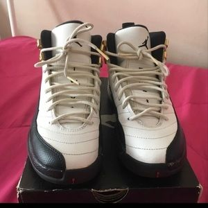 Retro Air Jordan Taxi 12s Grade School
